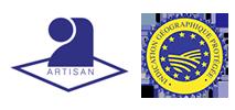 Logo artisan IGP saucisson artisanal