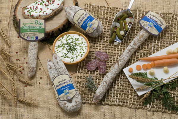 Groupe Debroas gamme alliance producteurs saucisson artisanal