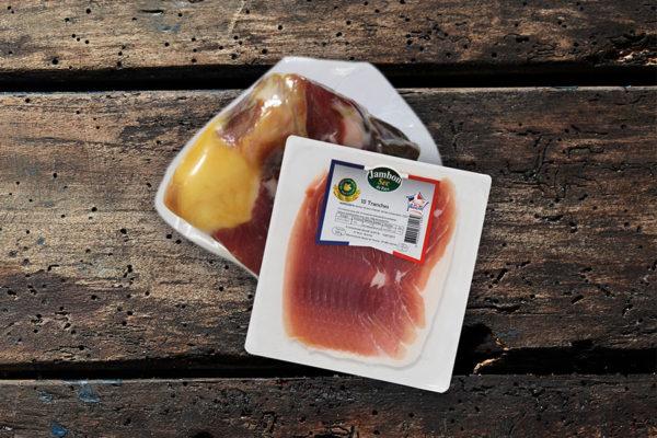 Groupe Debroas gamme alliance producteurs jambon artisanal