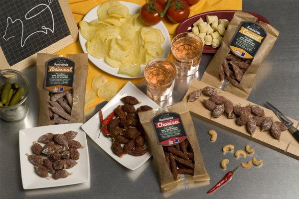 Groupe Debroas gamme alliance producteurs snacking artisanal